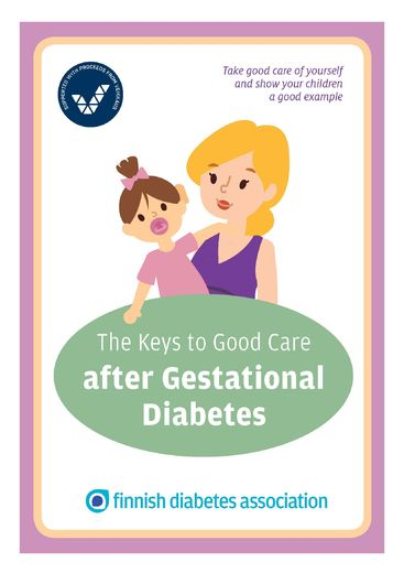 The Keys to Good Care after Gestational Diabetes (PDF file)